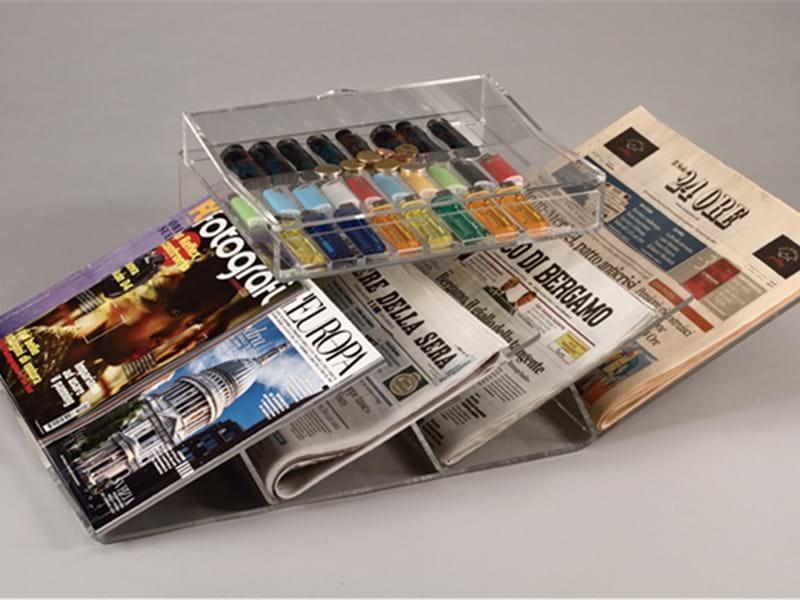 Espositori per giornali, riviste, quaderni....