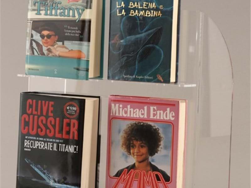 Espositori per librerie