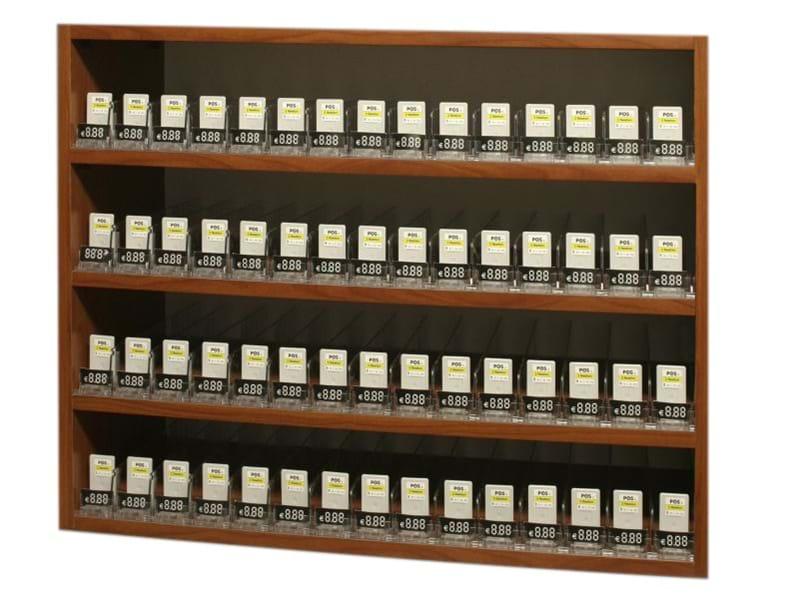 Espositori per sigarette in legno nobilitato