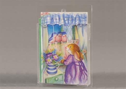 Espositore da parete a 1 tasca porta biglietti augurali o - Porta cartoline ...