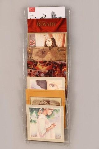 Espositore da parete a 8 tasche per calendari vinili for Stampe da parete