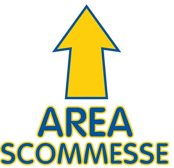 "ADESIVO CALPESTABILE ""AREA SCOMMESSE"""