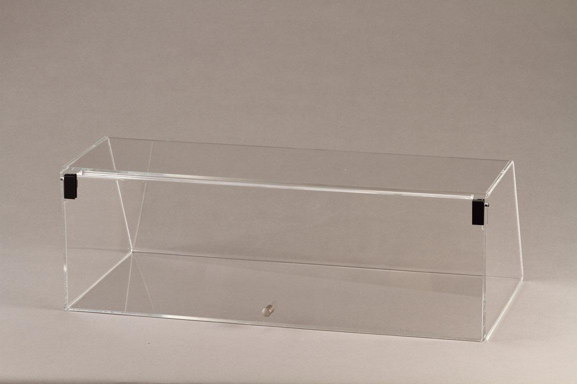 VETRINETTA PER BRIOCHES E DOLCI CONFEZIONATI CON ANTINA (larghezza 90,5 cm)