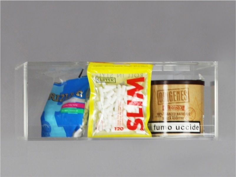 Espositore per caramelle confezionate, accendini da banco e da parete - 1 piano