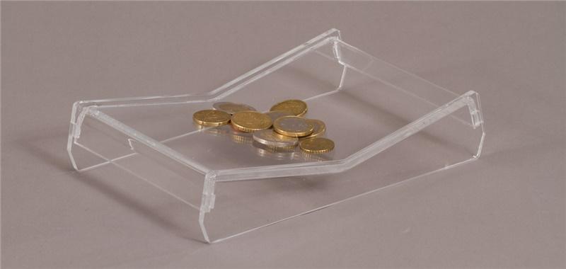 Rendiresto in plexiglass trasparente