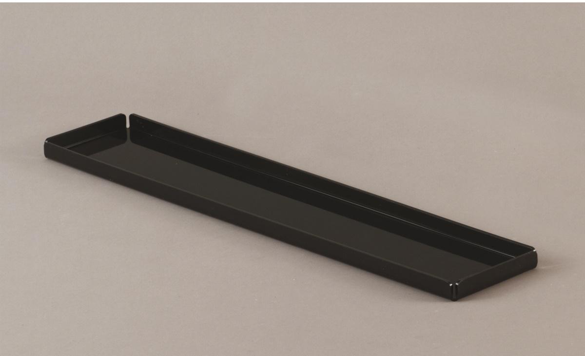 Vassoio in plexiglass nero - non per contatto alimentare