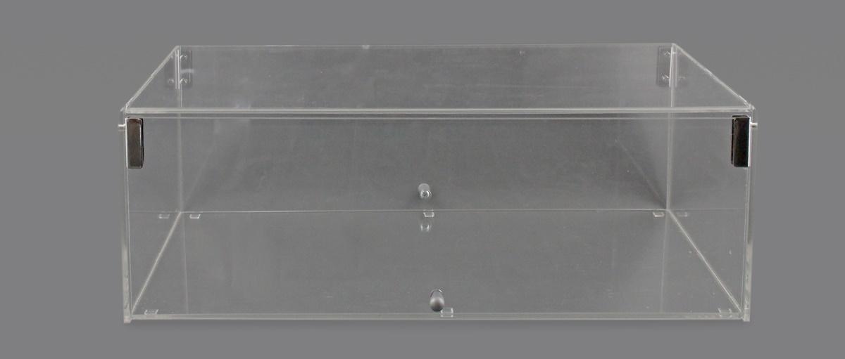 VETRINA PORTA BRIOCHES E DOLCI CONFEZIONATI  A 1 PIANO CON DOPPIO SPORTELLO LARGHEZZA 55cm