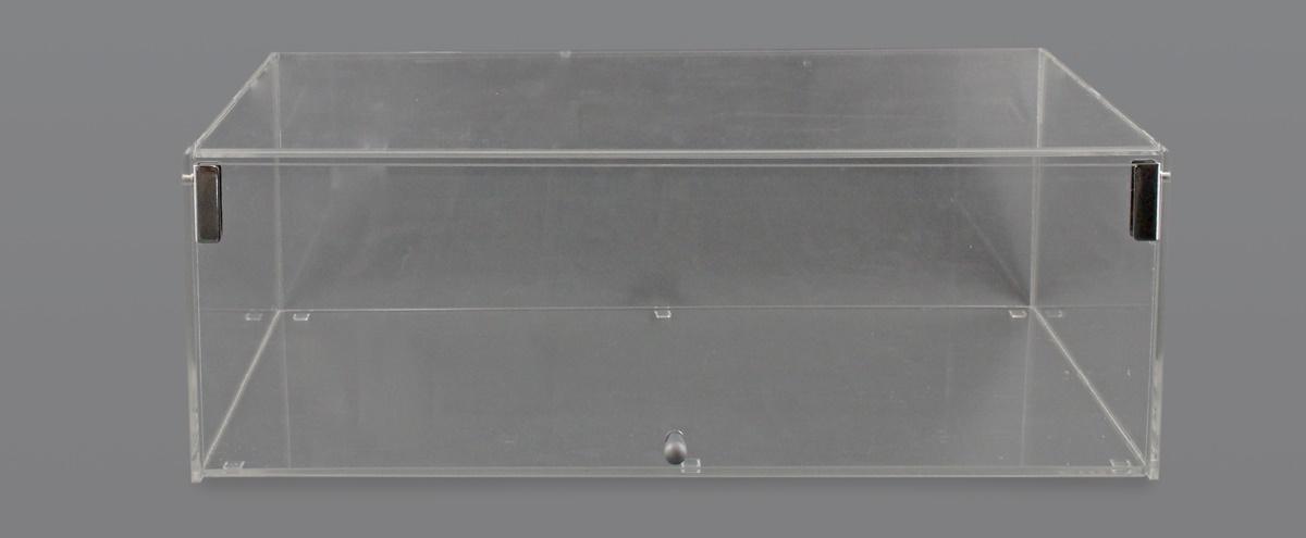 VETRINA PORTA BRIOCHES E DOLCI CONFEZIONATI A 1 PIANO CON SPORTELLO DA UN SOLO LATO L. 55 cm