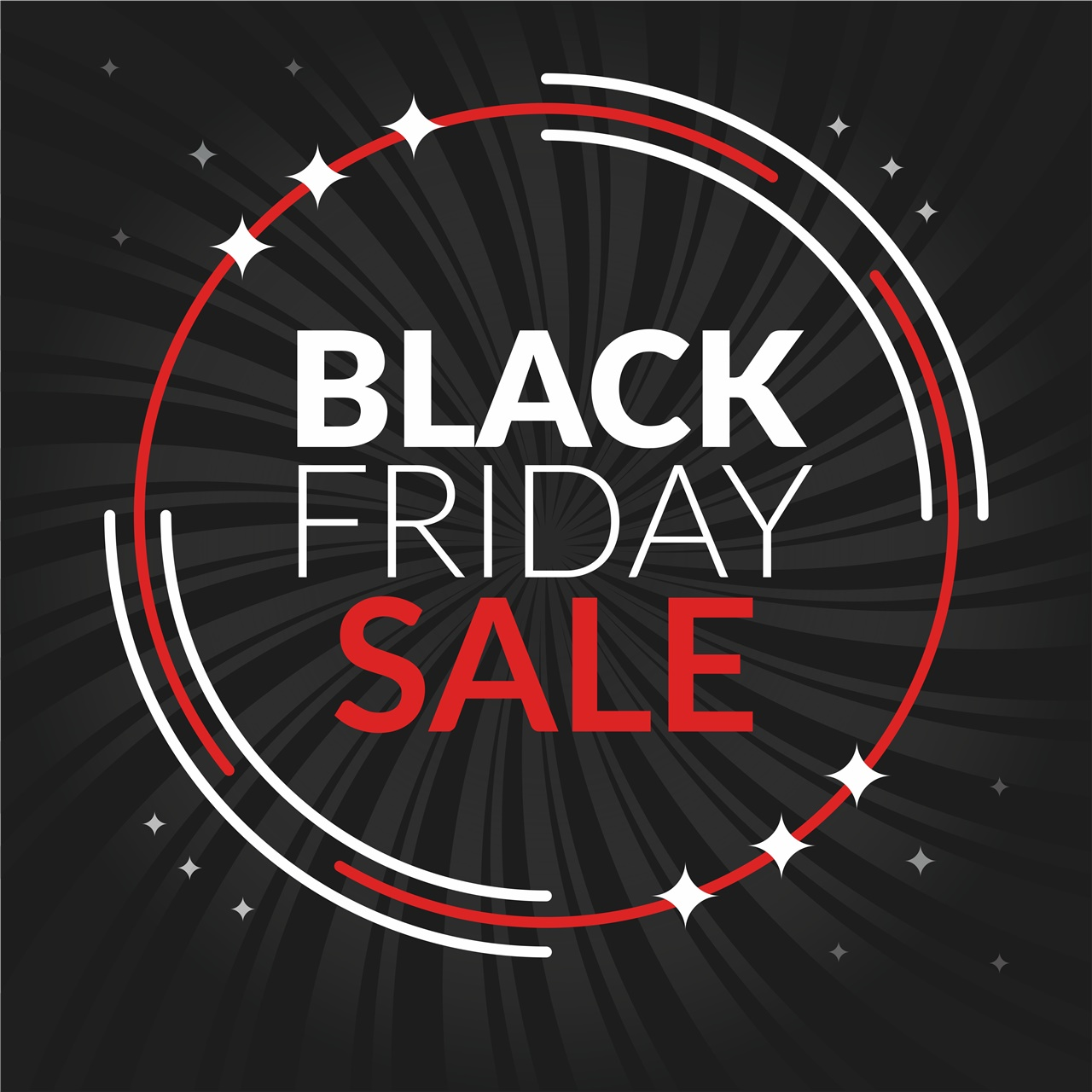 Adesivo removibile Black Friday Sale