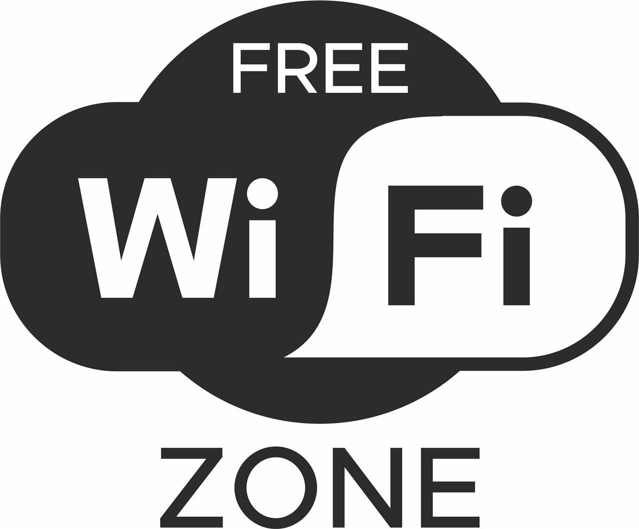 Adesivo free wi-fi