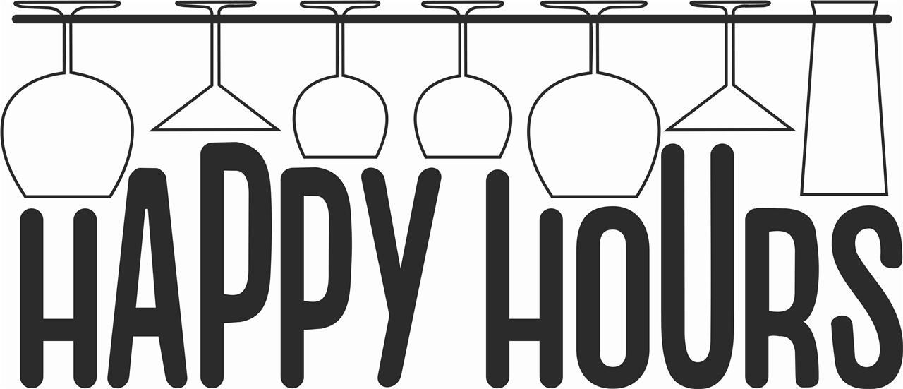 Adesivo Happy hours