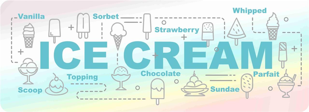 Adesivo ice cream