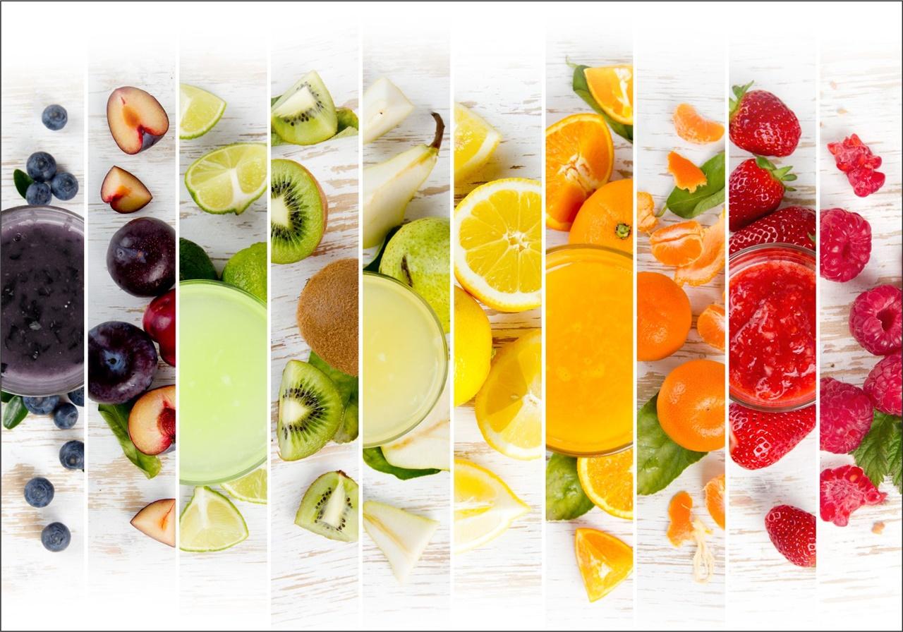 Adesivo frutta