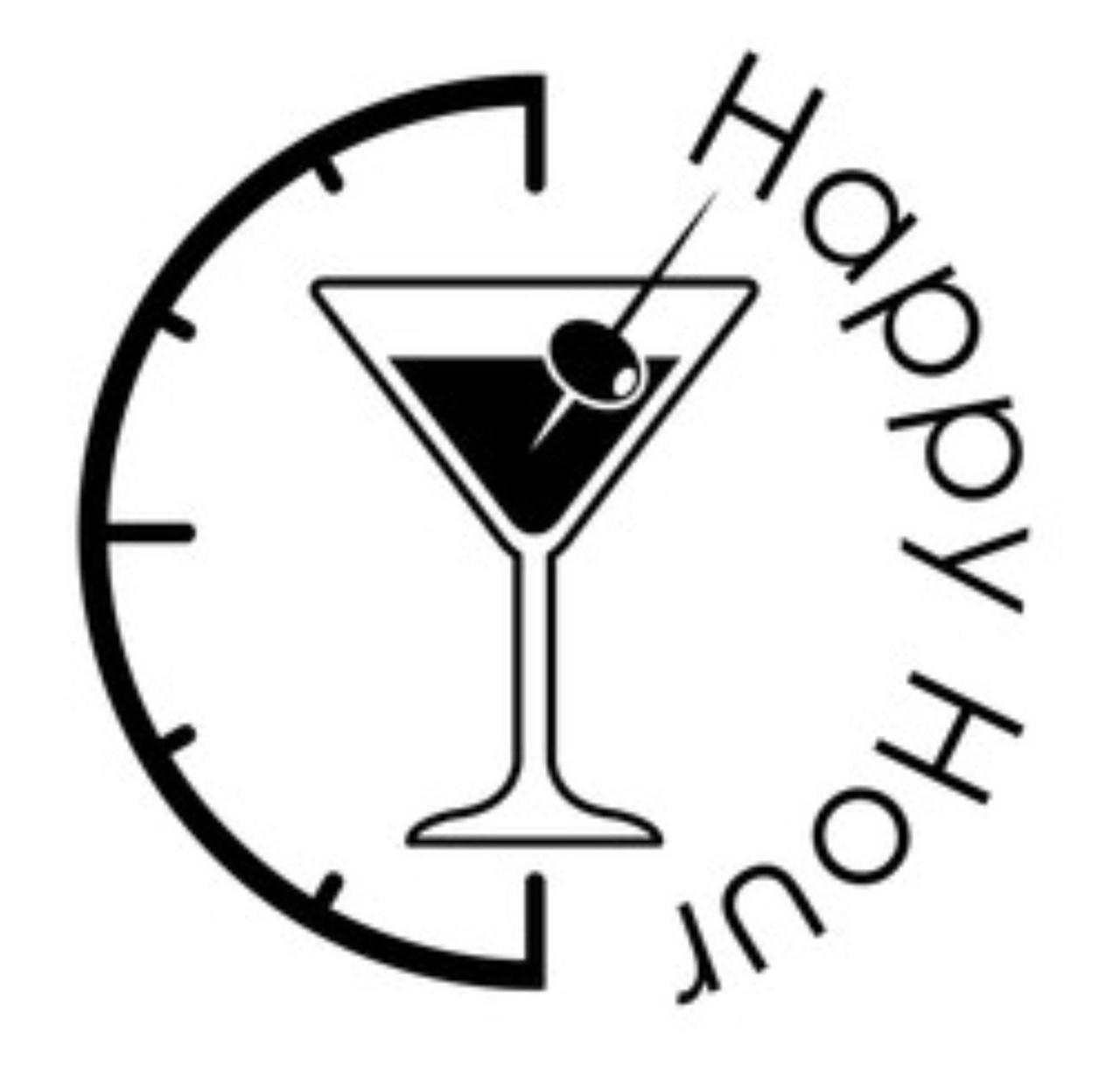 Adesivo Happy hour clock