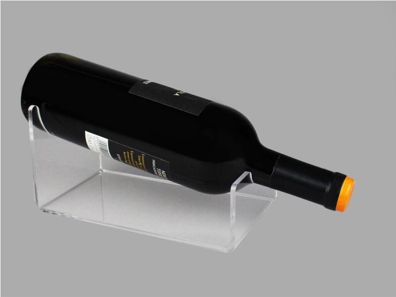 Espositore porta bottiglia vino da banco