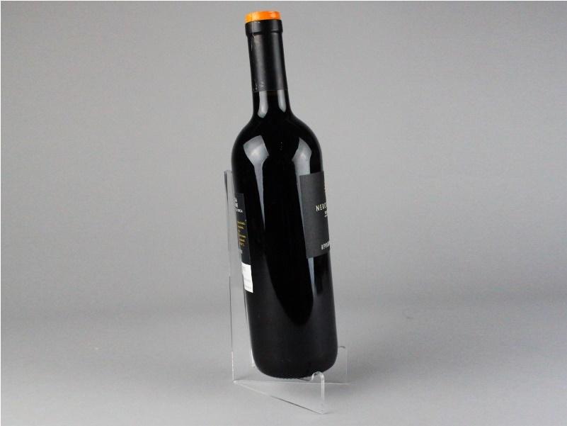 espositore da banco per bottiglia di vino