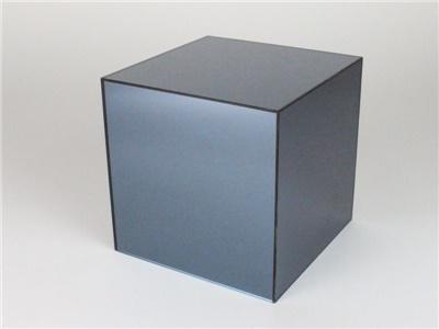 cubi in plexiglass specchiato antracite
