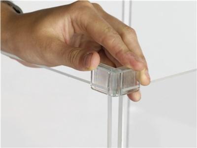 Cubi modulari componibili in plexiglass 4 cubi 2 orizzontali +2verticali