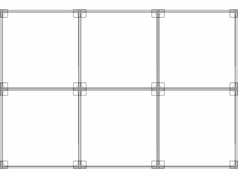 Cubi modulari componibili in plexiglass 6 cubi 3ox2v