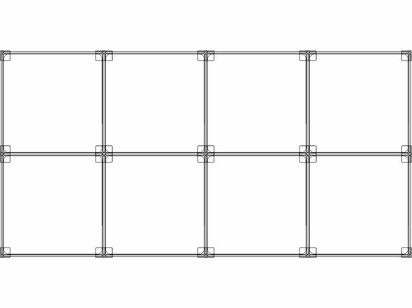 Cubi modulari componibili in plexiglass 6 cubi 4ox2v
