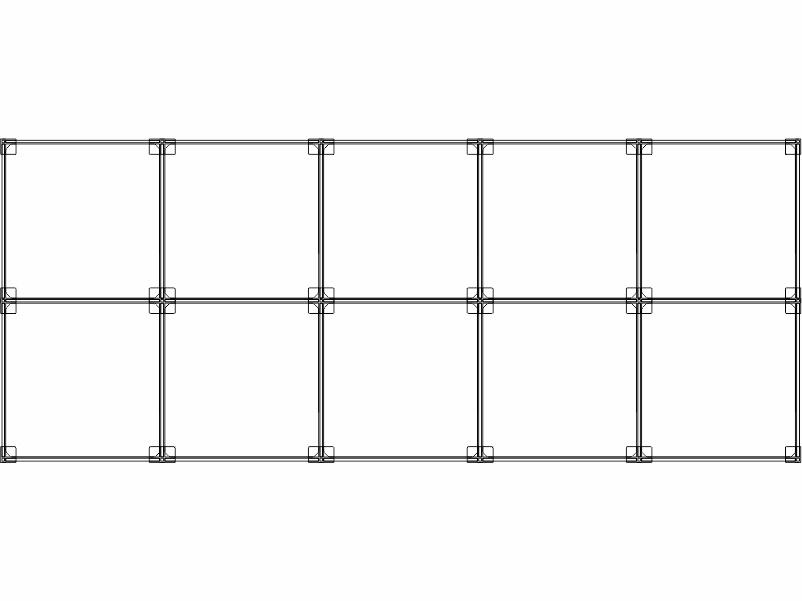 Cubi modulari componibili in plexiglass 10 cubi 5ox2v