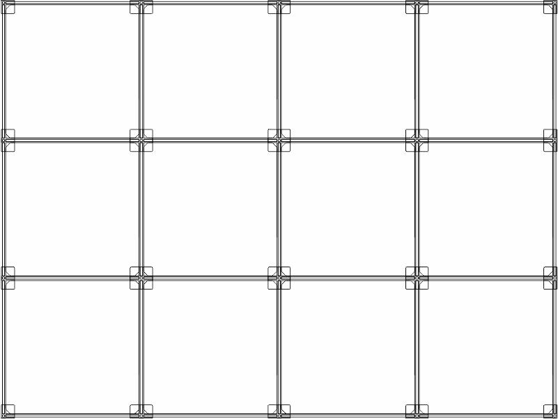 Cubi modulari componibili in plexiglass 12 cubi 4ox3v