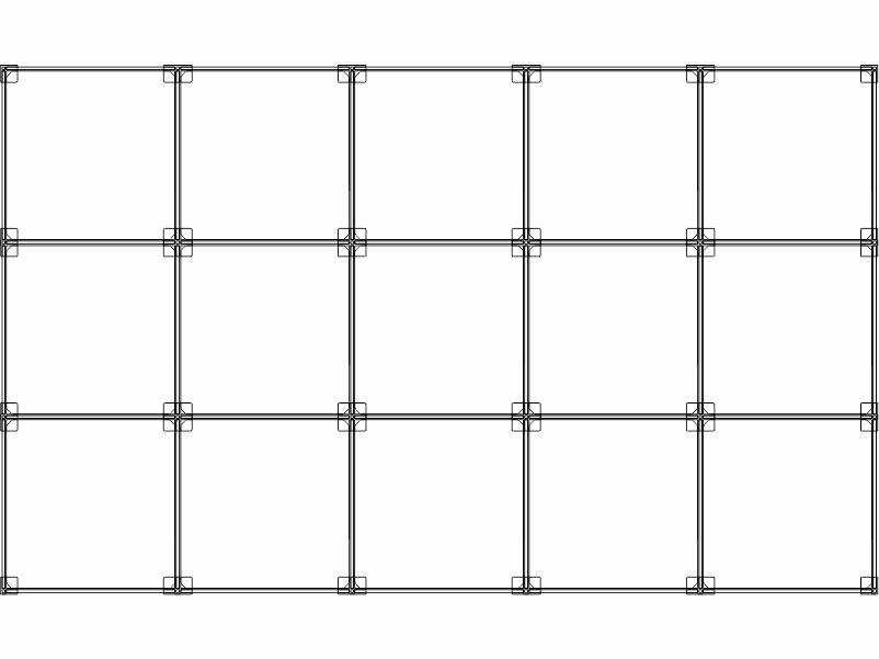 Cubi modulari componibili in plexiglass 15 cubi 5ox3v