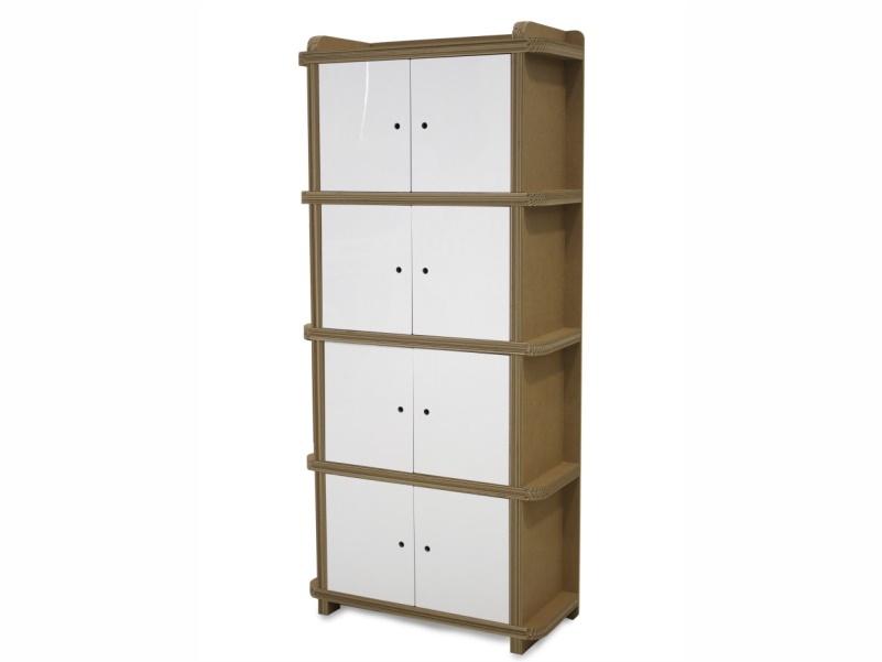 Scompartix, armadio in cartone