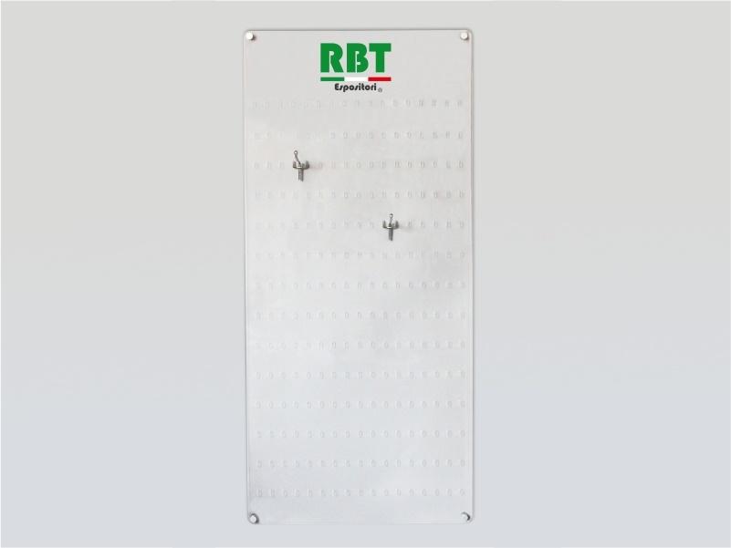 espositore da parete porta blister plexiglass trasparente