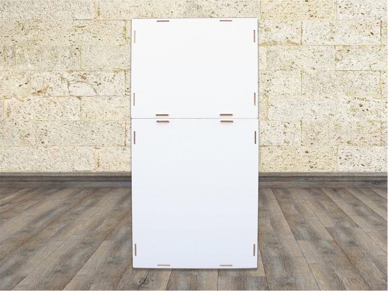 frigorifero cartone