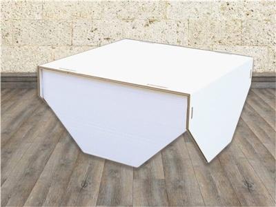 tavolino da salotto in cartone