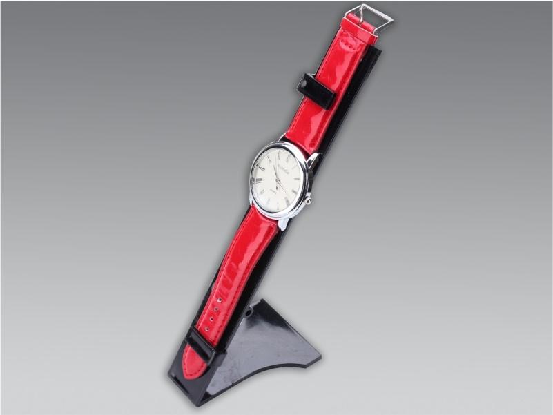 espositore per 1 orologio da banco plexiglass nero