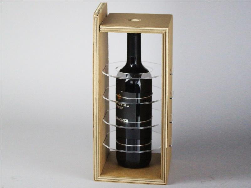 Confezione per bottiglie modello B in cartone
