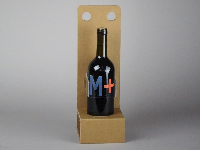 Confezione per bottiglie modello C in cartone