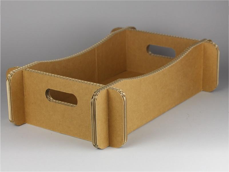 Cassetta per confezioni regalo in cartone modello c
